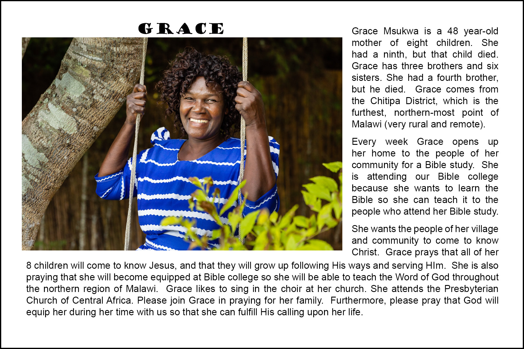 Malawi Student - Grace - Prayer Card.jpg